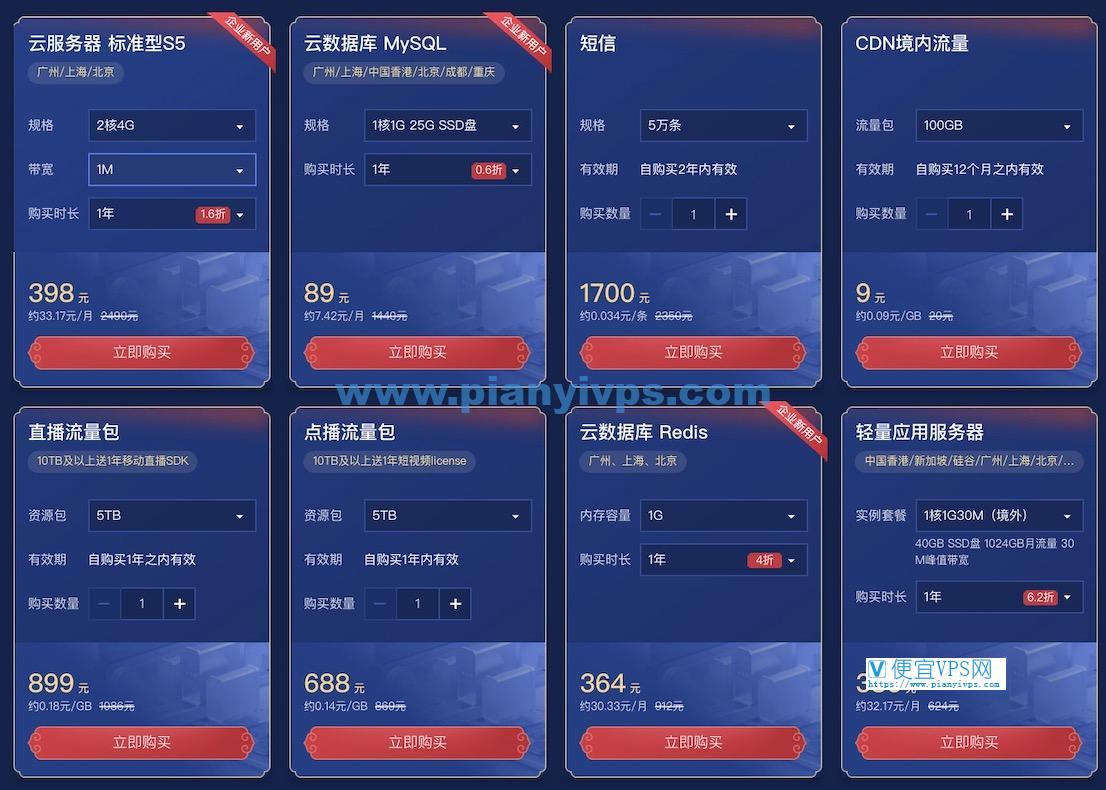 腾讯云新春采购节活动企业用户优惠